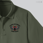 CA Stanislaus Sheriff Bomb Squad OD Green Polo