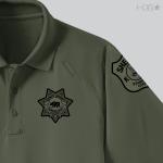CA Stanislaus Sheriff K9 OD Green Polo